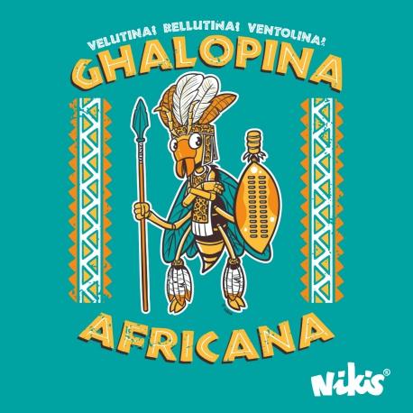 CAMISETA GHALOPINA AFRICANA