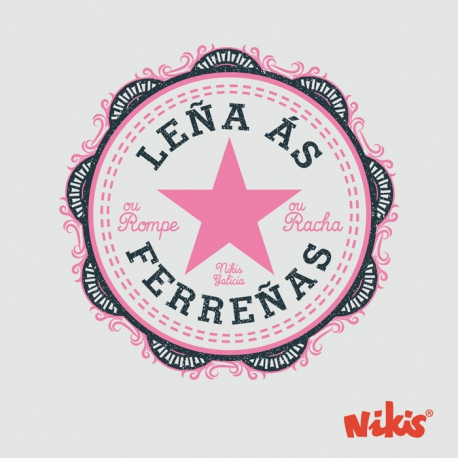 CAMISETA LEÑA AS FERREÑAS NENA