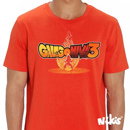 Camiseta Galego Nivel 3