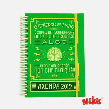 AXENDA ESPIRAL CEREBRO
