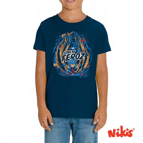 Camiseta Lobeto Feroz Galego