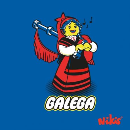 CAMISETA GALEGA GAITEIRA NENA