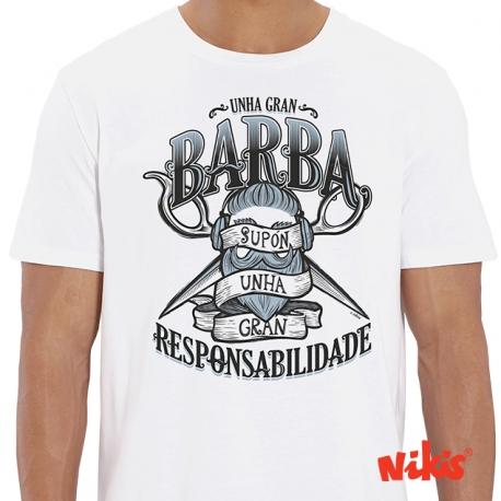 Camiseta Unha Gran Barba