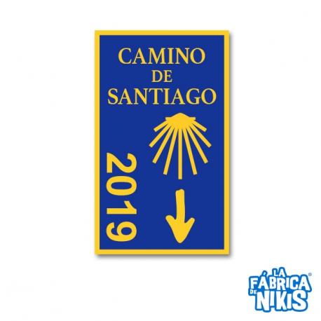 Parche Camino de Santiago 2019
