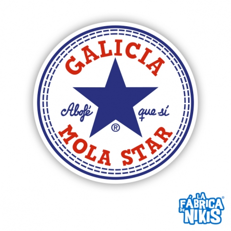 Parche Galicia Mola Star