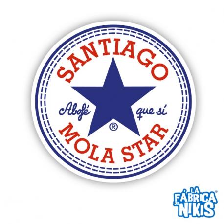 Parche Santiago Mola Star