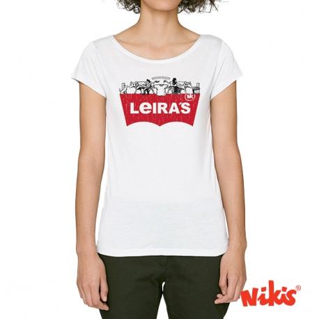 Camiseta Leira´s moza