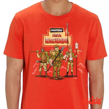 Camiseta Fogueteiros