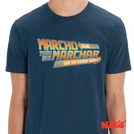 Camiseta Marcho que ...