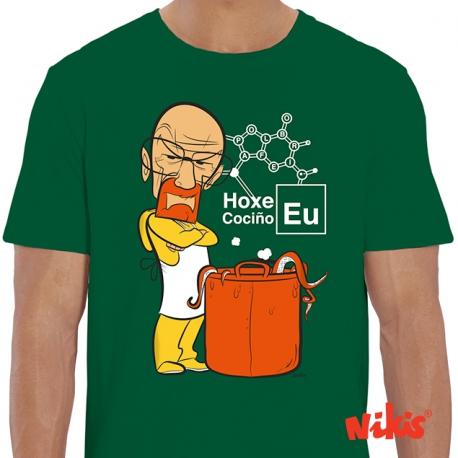 Camiseta Hoxe cociño eu