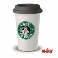 Taza Travel Mug café de Pota