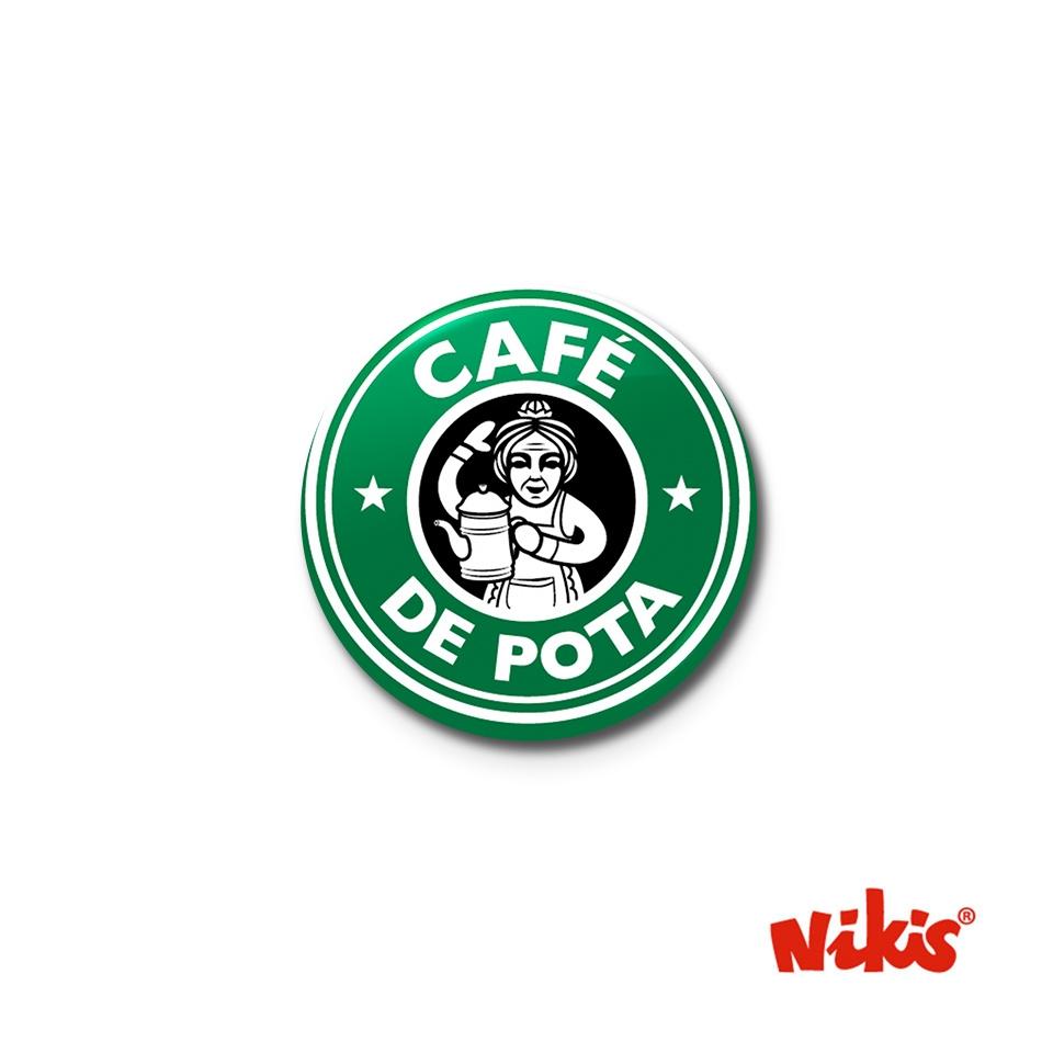 CHAPA CAFÉ DE POTA