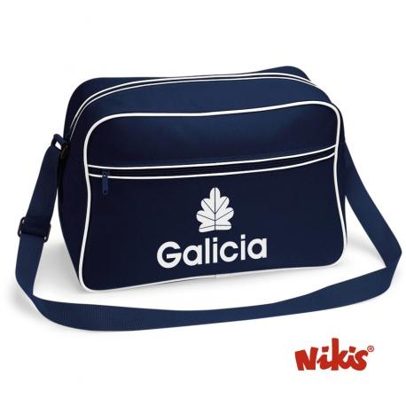 Bolso Galicia marino
