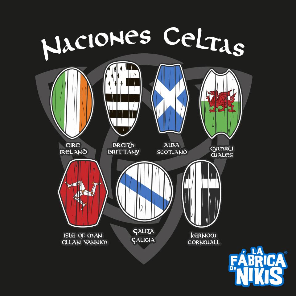 CAMISETA NACIONES CELTAS