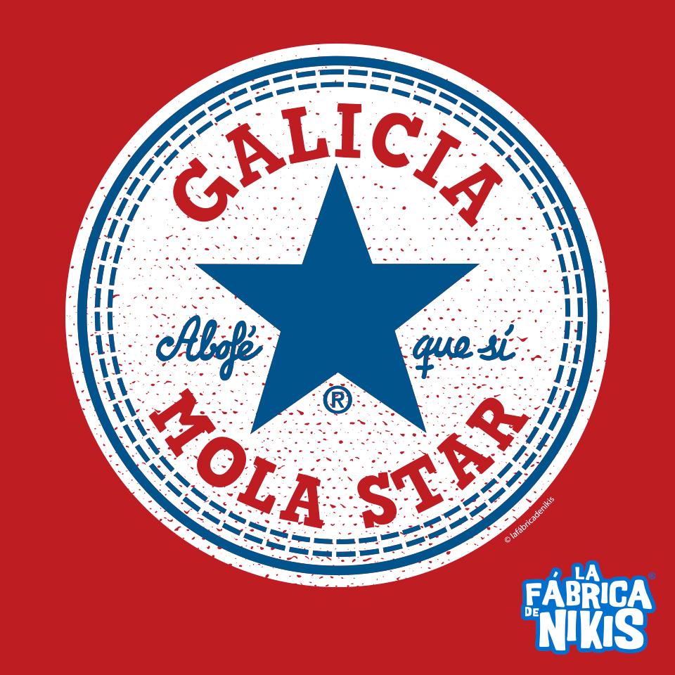 CAMISETA GALICIA MOLA STAR