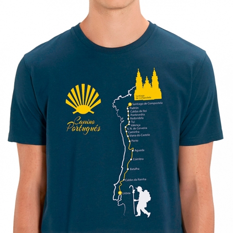 Camiseta Camino de Santiago Portugués