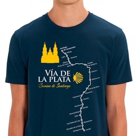 Camiseta Camino de Santiago Vía De La Plata