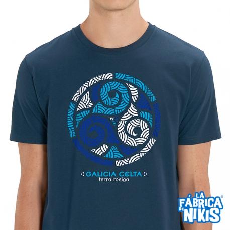Camiseta Trisquel Azul Galicia