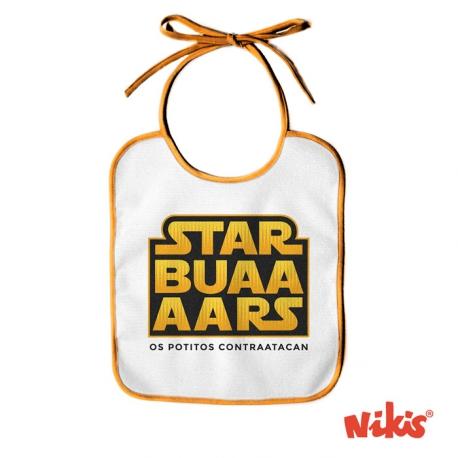 Babero Starbuars