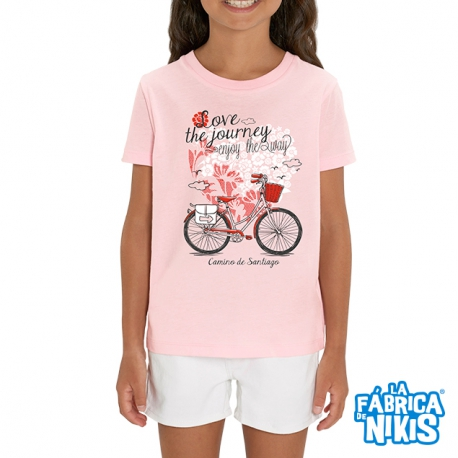 Camiseta Love The Journey Niña