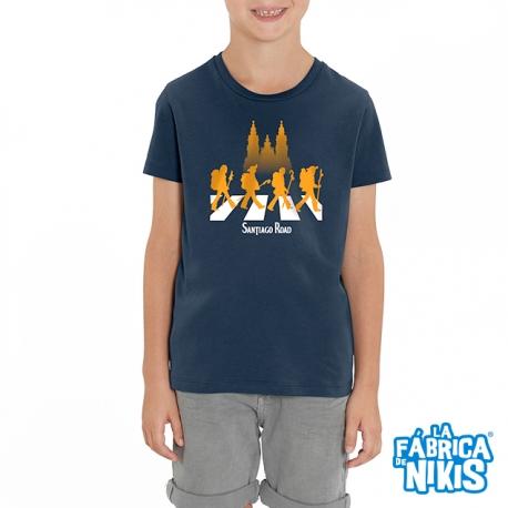 Camiseta Santiago Road niño
