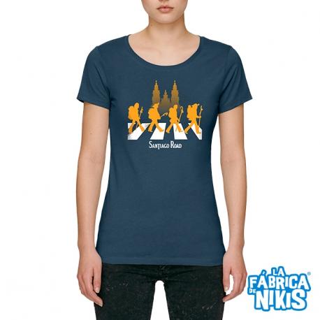Camiseta Santiago Road Chica