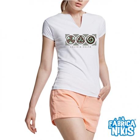 3 Galicia Celtic Symbol T-shirt