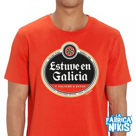 Camiseta Estuve en Galicia Roja