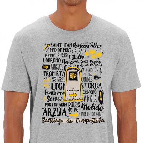 Camiseta Hito del Camino de Santiago