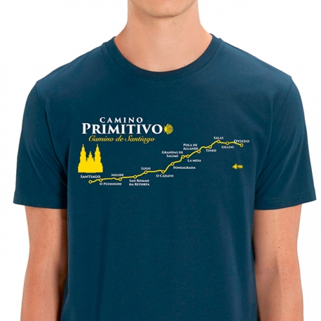 Camiseta Camino de Santiago Primitivo