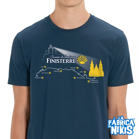 T-shirt Camino Finisterre