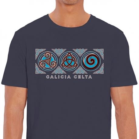 Camiseta 3 Símbolos Celta Denim