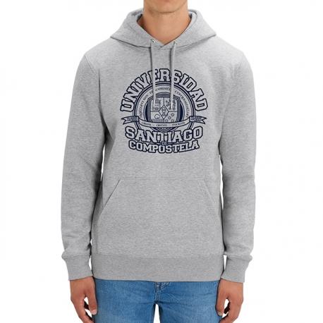 Sudadera Universidad Gris
