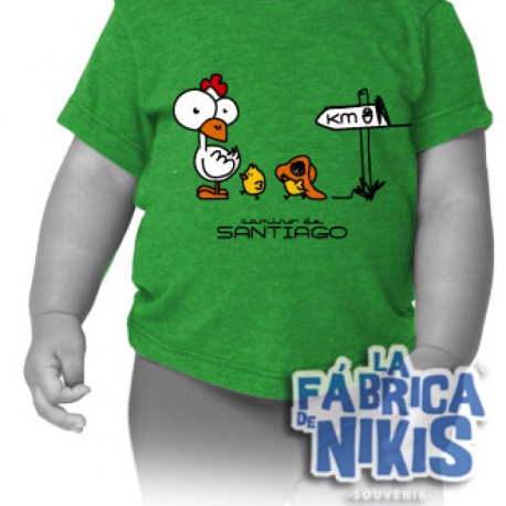 Camiseta Pollito bebé
