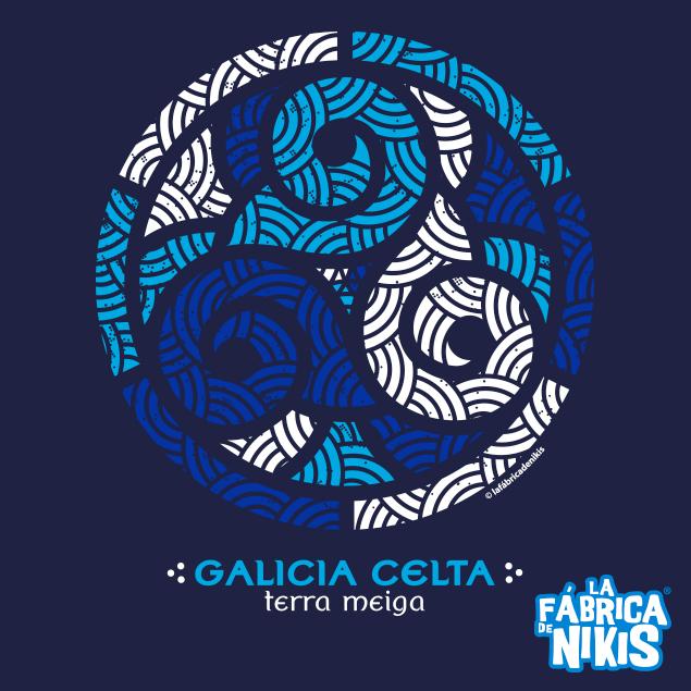 TRISQUEL GALICIA BLUE T-SHIRT
