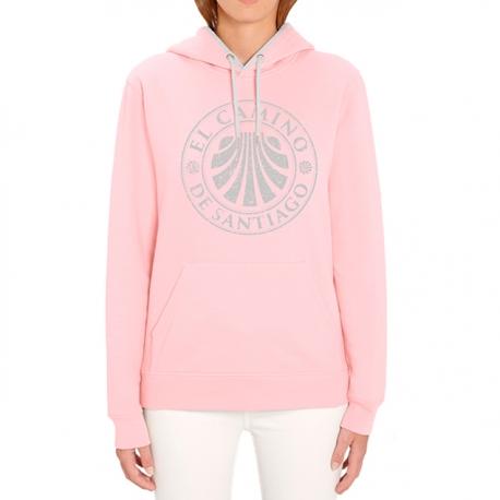 Sweatshirt Stamp girl pink