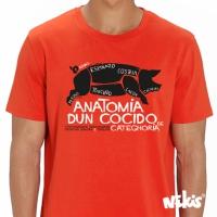 Camiseta Anatomia dun Cocido