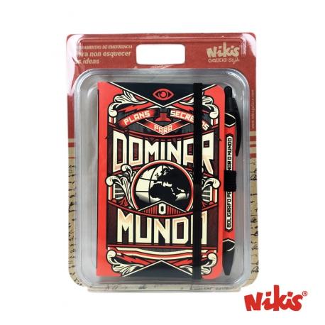 Pack Libreta y Boli Dominar