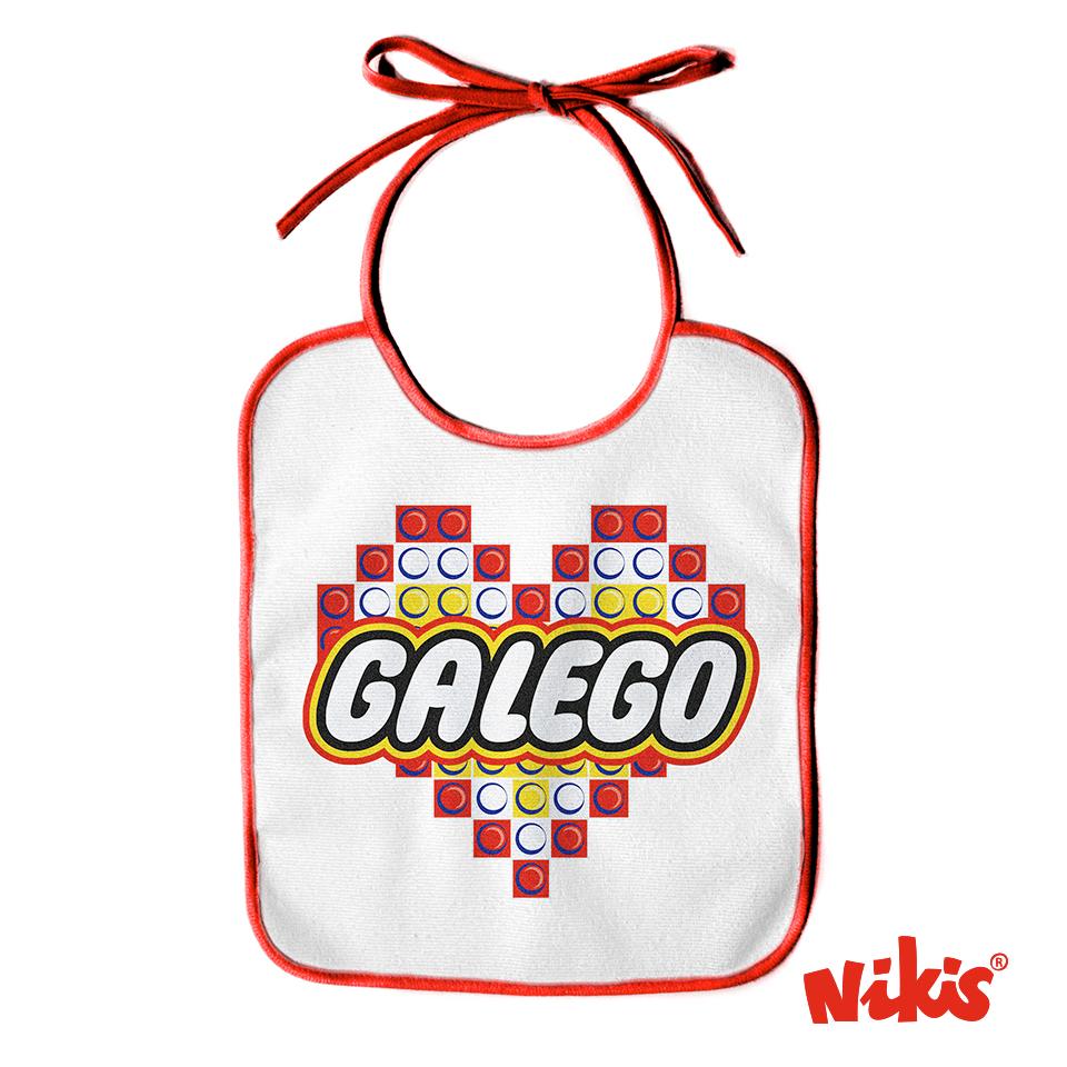 BABERO CORAZÓN GALEGO