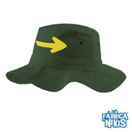 Sombrero Flecha verde