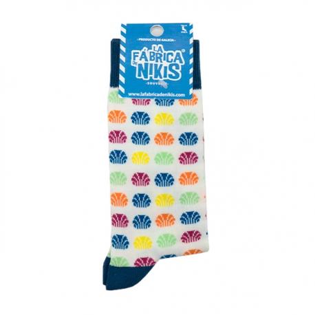 Colors Shell Socks