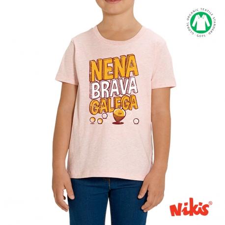 Camiseta Nena Brava Galega