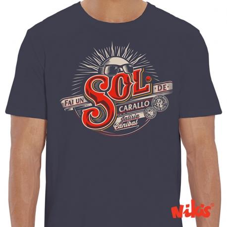 Camiseta Fai un Sol de Carallo