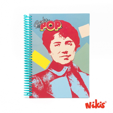 Caderno espiral Rosalia Pop