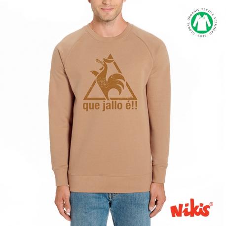 Sudadera cuello Que Jallo é !!