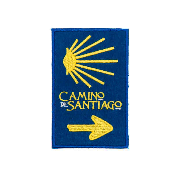 PARCHE CONCHA Y FLECHA CAMINO DE SANTIAGO