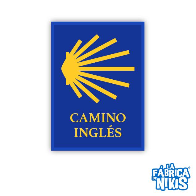 PARCHE CAMINO DE SANTIAGO INGLÉS