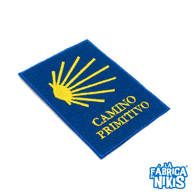 PARCHE CAMINO DE SANTIAGO PRIMITIVO