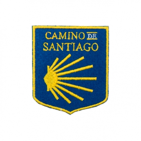 Parche Escudo Camino de Santiago Grande