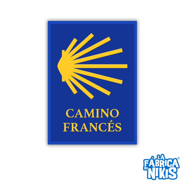 PARCHE CAMINO DE SANTIAGO FRANCÉS